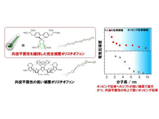 阪大,捻じれがない完全被覆分子導線を開発 | OPTRONICS ONLINE ...