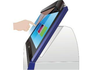 NECプラ,商用端末のタッチレス化キットを発売