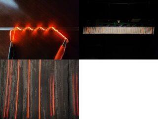 日本触媒,iOLEDフィルム光源を織物に応用