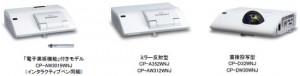 日立,スマホ・タブレットと連携する超短投写液晶プロジェクタ5機種を発売