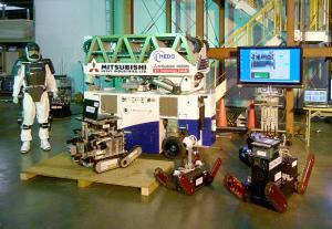 NEDO,「災害対応無人化システム研究開発プロジェクト」の成果公開
