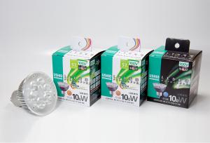 ウシオライティング,ダイクロハロゲン形 JDRφ70タイプのLED電球を発売