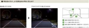 パナソニック,夜道が明るく見えるLED防犯灯を発売