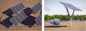 JNC,太陽光追尾型発電設備の実証実験を開始