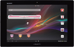 NTTドコモ,「ドコモ タブレット XperiaTM Tablet Z SO-03E」を発売