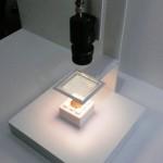 山形県工業技術センター,外観検査向け有機EL照明メッシュパネルを開発