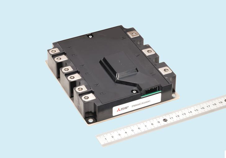 三菱電機,自動車用パワー半導体モジュールのサンプル提供開始
