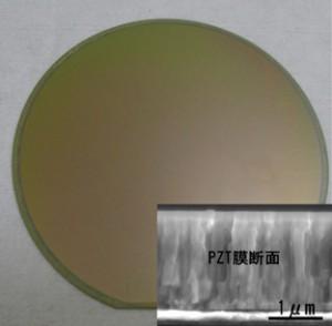 三菱マテリアル,高スループット成膜を可能とするPZT圧電膜用ゾルゲル材料を開発