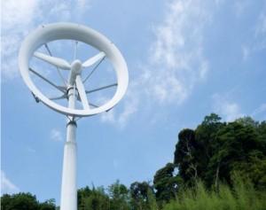 九大、小型レンズ風車デモ装置を文科省情報ひろばに展示