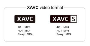 ソニー,4K/HD高画質ビデオフォーマットXAVCを拡張