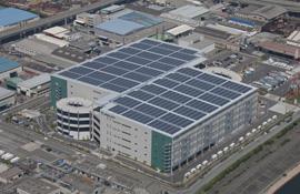 プロロジス,物流施設を活用した太陽光発電の運転を開始