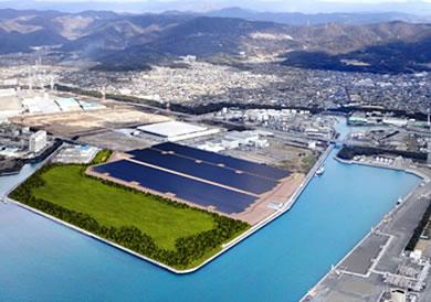 清水建設,メガソーラープラントを兵庫県赤穂市に建設
