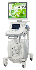 東芝メディカルシステム,コンパクトで機動性に優れたハイエンドクラス超音波診断装置を発売