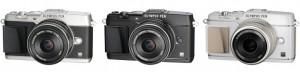 オリンパス,ミラーレス一眼レフカメラ2機種を発売