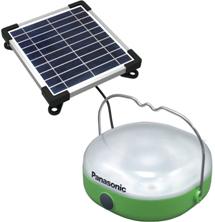 パナソニック,太陽光発電で灯りをともす「チャージ機能付ソーラーランタン」を開発