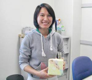 北陸先端科技大のTrinh Cham Thiさん,イノベイティブPV奨励賞を受賞