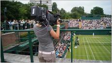 ソニー,ウィンブルドン選手権で4K映像と3Dライブ映像を制作