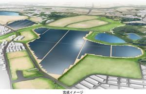 大和ハウス工業,福岡県に同社グループ最大19.5MWのメガソーラーを建設