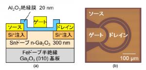 """NICTなど、""""酸化ガリウム(Ga2O3)MOSトランジスタ""""を世界で初めて実現"""