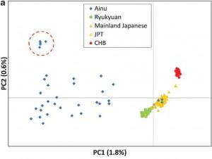 総合研究大学院大学ら,日本人のルーツを遺伝子から解明