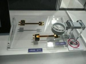 日本メクトロン,VCSEL搭載の光導波路一体FPCを開発
