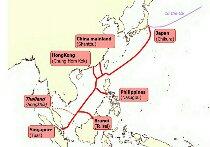 NECらが建設した日本と東南アジア諸国を結ぶ大型海底ケーブル「SJC」が稼働開始