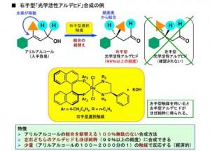 北大、医薬・香料原料「光学活性アルデヒド」の効率的合成に成功