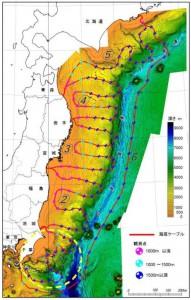 NIED、日本海溝海底地震津波観測網の海底ケーブル敷設工事を千葉県房総沖で開始