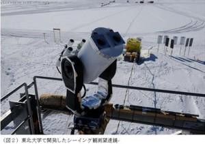 東北大、ドームふじ基地が地球上で最も天体観測に適した場所であることを発見