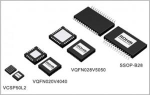 ローム,2点タッチに対応した4線式抵抗膜方式タッチパネルコントローラを発売