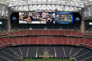三菱電機,米ヒューストン・テキサンズのスタジアムにオーロラビジョンを納入