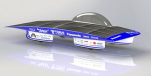 パナソニック,東海大学のソーラーカーにHIT®太陽電池を供給