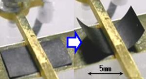 産総研、 軽量で消費電力の少ないナノカーボン高分子アクチュエーターを開発