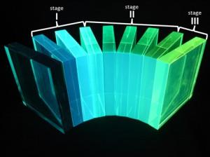 放医研、光の色を変換するプラスチックの新メカニズムを発見