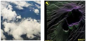 NICT、上空9,000mからの地表面観測データを機上で即時処理・地上へ伝送