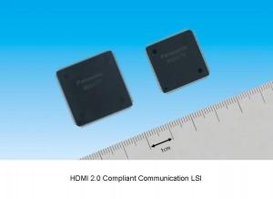 パナソニック,4K対応HDMI Ver.2.0規格準拠通信LSIを製品化