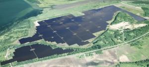 清水建設,国内最大のメガソーラープラントに着工