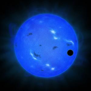 国立天文台と東大、青い光でスーパーアースの空を観測
