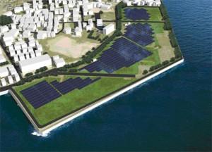 NTTファシリティーズ,広島県で2ヶ所目の太陽光発電事業用サイトを竣工