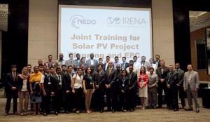 NEDOとIRENA,新興国・途上国の再生可能エネルギーの専門家を育成する研修を開催