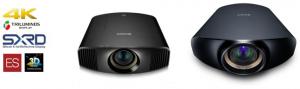 ソニー,4Kホームシアタープロジェクタ 2機種を発売