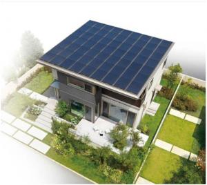 ソーラーフロンティアのCIS薄膜太陽電池,セキスイハイムの次世代ソーラー住宅に搭載