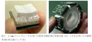 名大、世界最高の超高分解能を有する小動物用PET装置の開発に成功