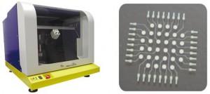 産総研、世界最小、配線幅3μmの超微細インクジェット銅配線技術を開発