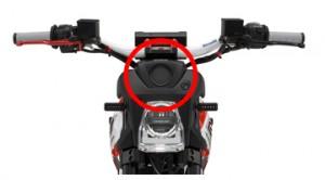 カシオの可視光通信技術,スズキのコンセプトバイクに採用