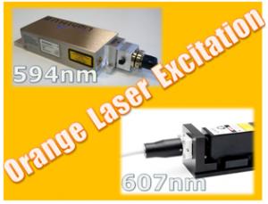日本レーザー,オレンジ色DPSSレーザの取り扱いを開始