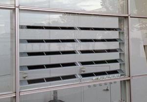 竹中工務店,三菱化学製有機系太陽電池一体型ルーバーの実証実験を開始
