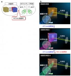 東大、光の波面を90度スイッチングする光磁石を発見