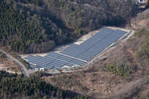 NTTファシリティーズ,岐阜県恵那市でメガソーラーを竣工