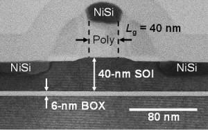 慶大と産総研、ナノメートル・スケールトランジスタ動作中温度の正確な測定に成功